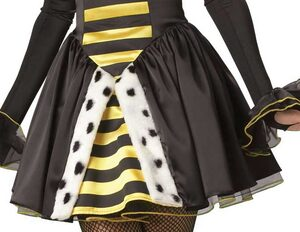 Queen Miss-Bee-Have Adult Bumble Bee Costume