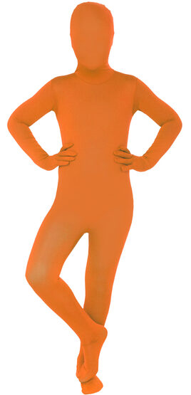 Orange Morphsuit Kids Costume