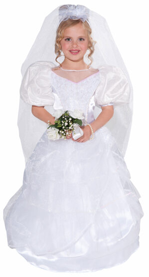 First Dance with Daddy Bride Kids Costume
