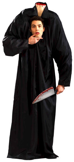 Headless Man Scary Adult Costume
