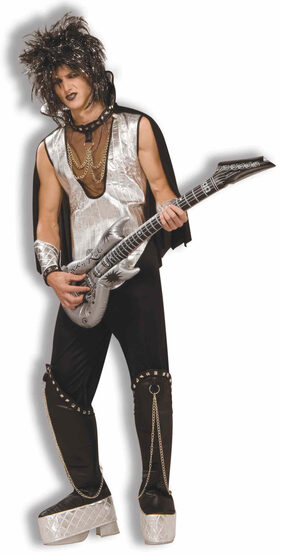 Rock On 80s Rockstar Adult Costume