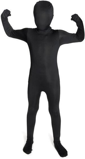 Black Morphsuit Kids Costume