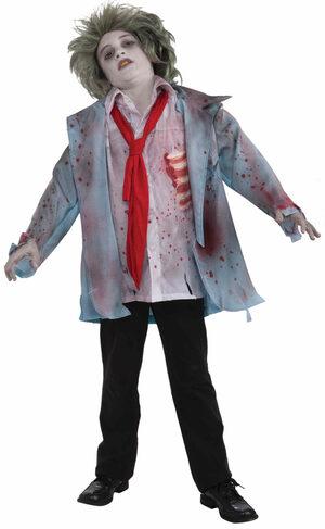 Zombie Dead Boy Kids Costume
