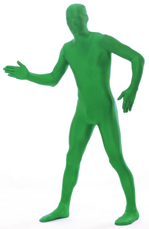Green Morphsuit Adult Costume