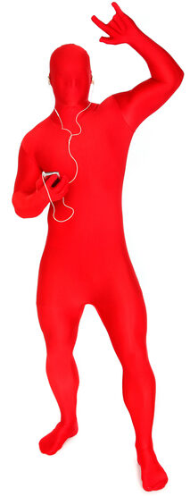 Red Morphsuit Adult Costume