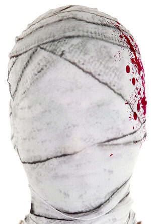 White Mummy Morph Mask