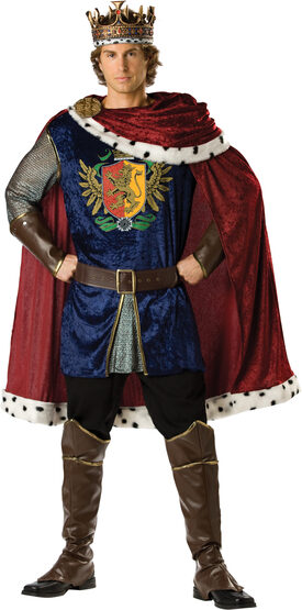 Medieval Noble King Adult Costume
