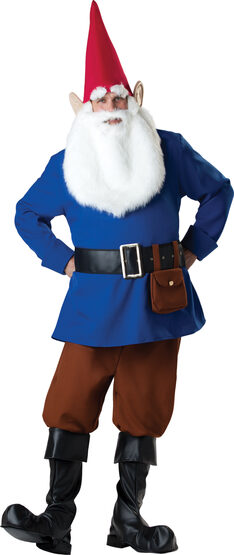 Mens Funny Gnome Adult Costume