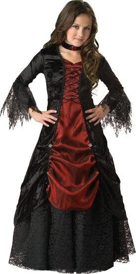 Dark Darling Vampiress Kids Costume