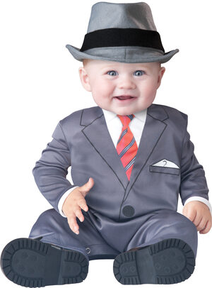 All Business Gangster Baby Costume