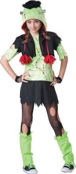 Monster Girl Kids Costume