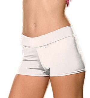 Dreamgirl White Plus Size Short