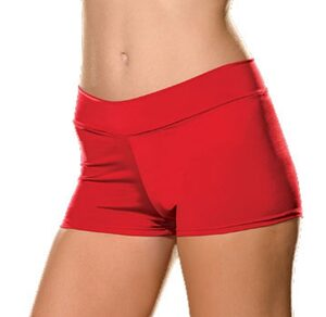 Dreamgirl Red Plus Size Short