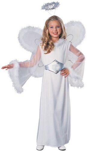 Girls Snow Angel Kids Costume