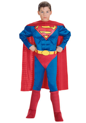 Superman Muscle Chest Classic Kids Costume