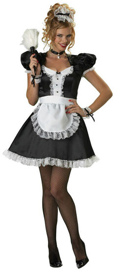 Upscale Sexy French Maid Costume
