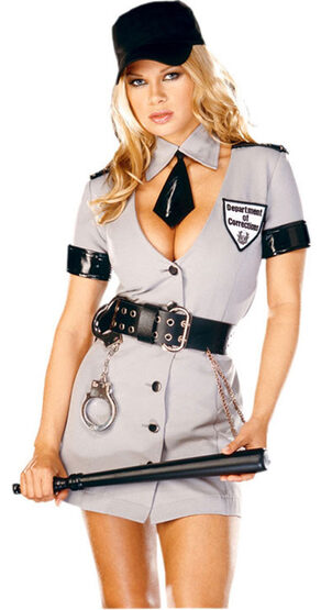 Corrections Officer Sexy Cop Costume