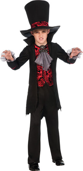 Gothic Vampire Lord Kids Costume