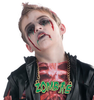 Zombie Gangster Necklace