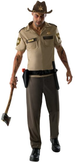Rick Walking Dead Police Adult Costume