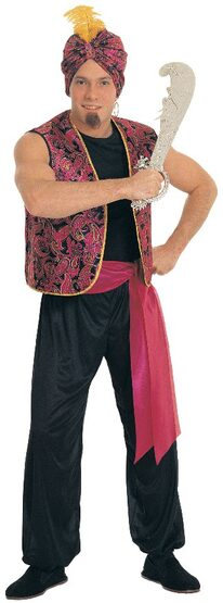 Mens Desert Sultan Adult Costume