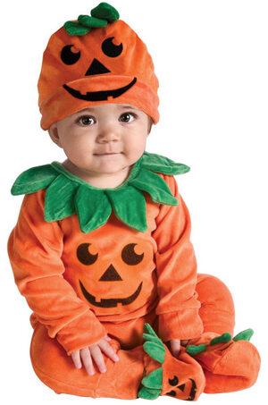 Little Pumpkin Cutie Baby Costume