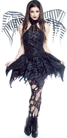 Sexy Dainty Dark Fairy Costume