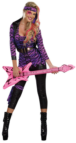 Sexy Truly Outrageous Rockstar Costume