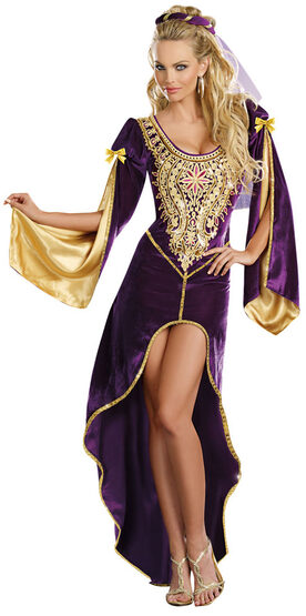 Sexy Queen of Thrones Medieval Costume