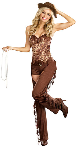 Sexy Bangin' Hot Cowgirl Costume