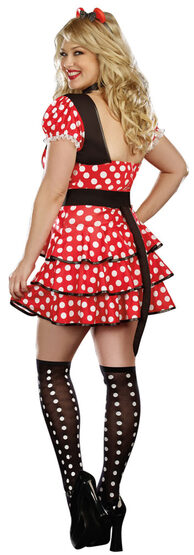 Light Up Miss Minnie Mouse Plus Size Costume