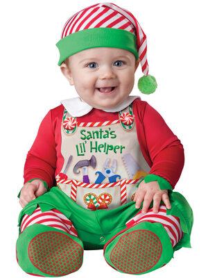 Santas Lil' Helper Baby Costume