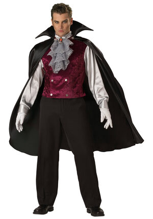 Mens Classic Adult Gothic Vampire Costume