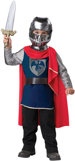 Gallant Medieval Knight Kids Costume