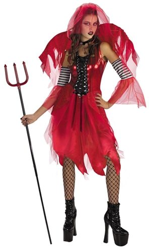 Sexy Dark Fairy Devil Costume