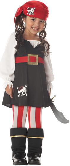 Precious Lil' Pirate Maiden Kids Costume