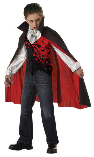 Prince of Darkness Vampire Kids Costume