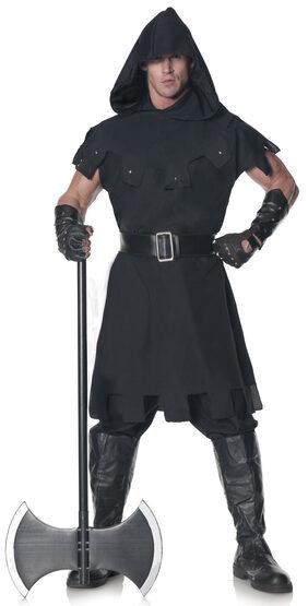 Hooded Medieval Executioner Adult Costume