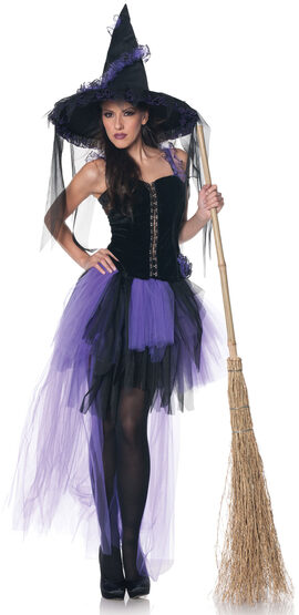 Sexy Black Magic Witch Costume