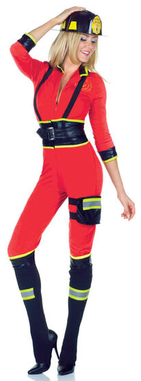 Sexy Three Alarm Firefighter Costume