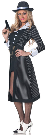 Sexy Gangster Boss Lady Costume