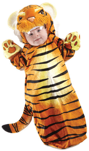 Tiny Tiger Bunting Baby Costume