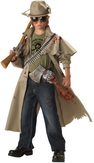 Zombie Hunter Kids Costume