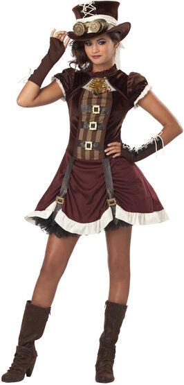 Steampunk Girl Tween Kids Costume