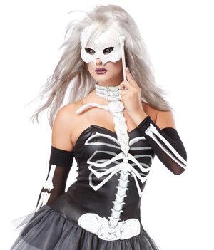 Sexy Skeleton Masquerade Costume