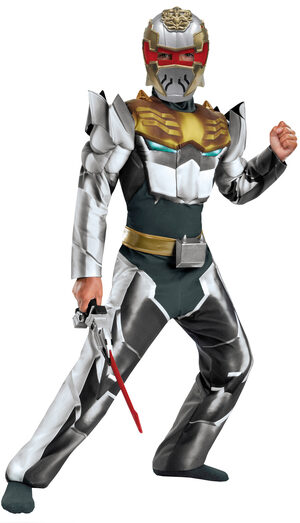 Robo Knight Muscle Chest Megaforce Kids Costume