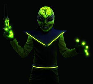 Glowing Alien Kids Costume