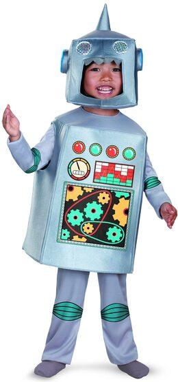 Retro Robot Kids Costume