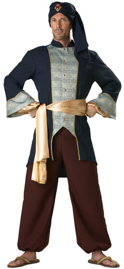 Royal Sultan Adult Costume