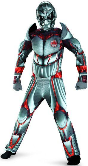 Alien Warrior Deluxe Kids Costume